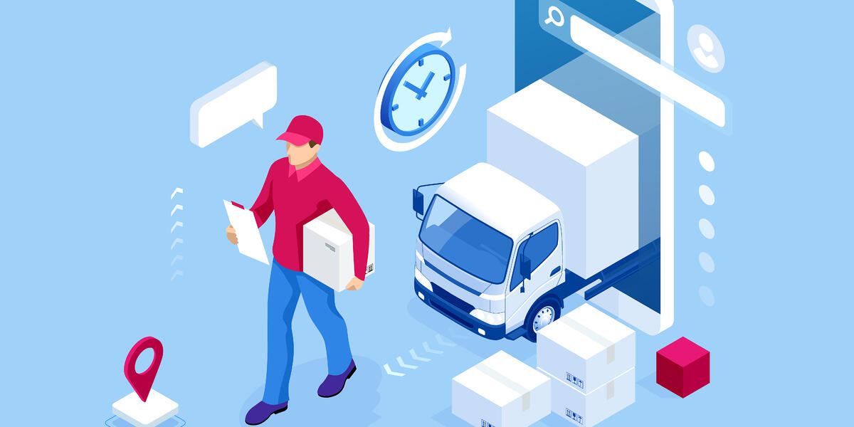 update delivery management software