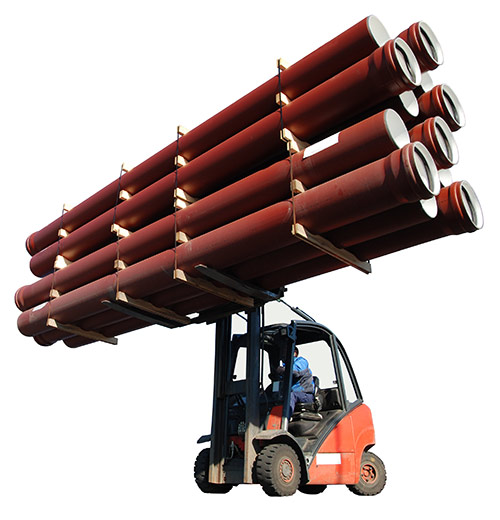 Forklift Pipes