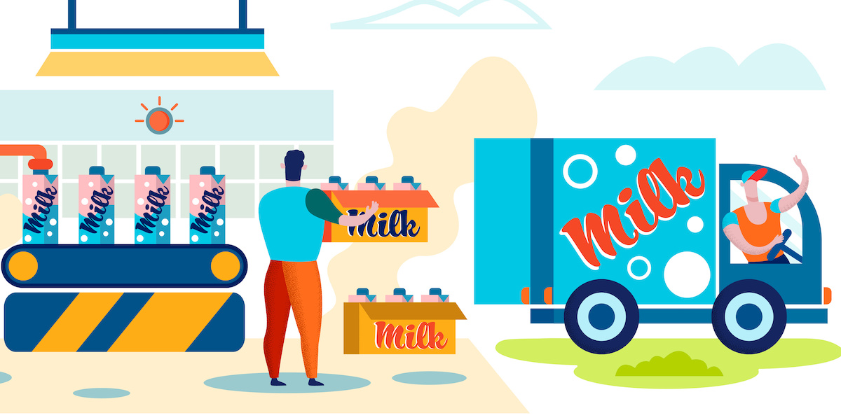 food logistics management software