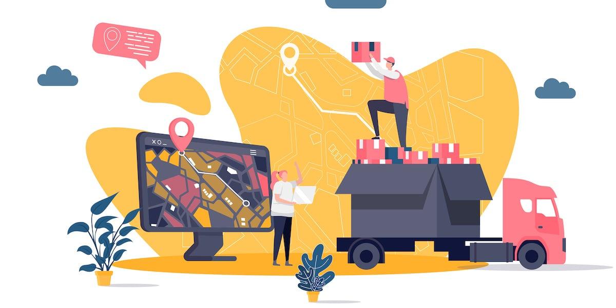 google maps for trucks