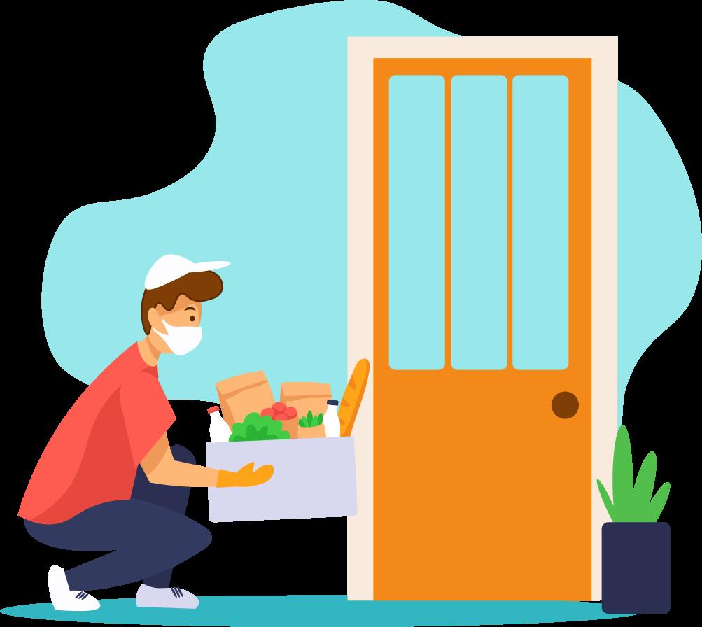 Grocery delivery platform