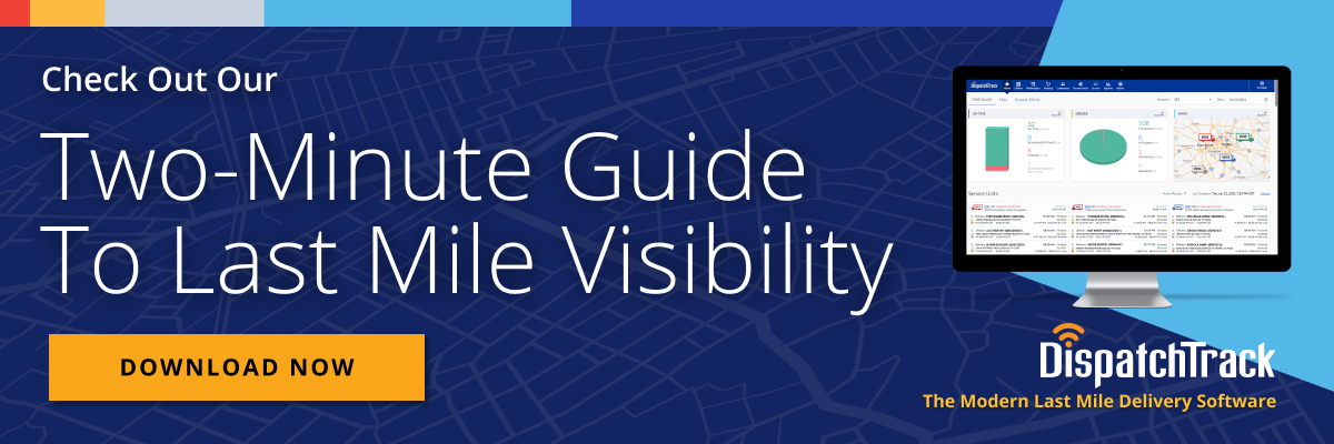 two minute guide to last mile visibility