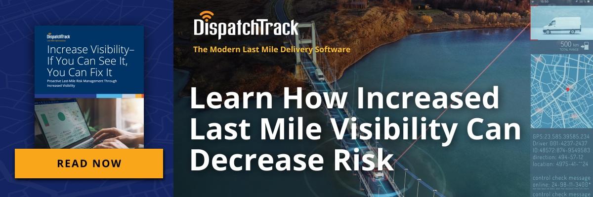 last mile visibility
