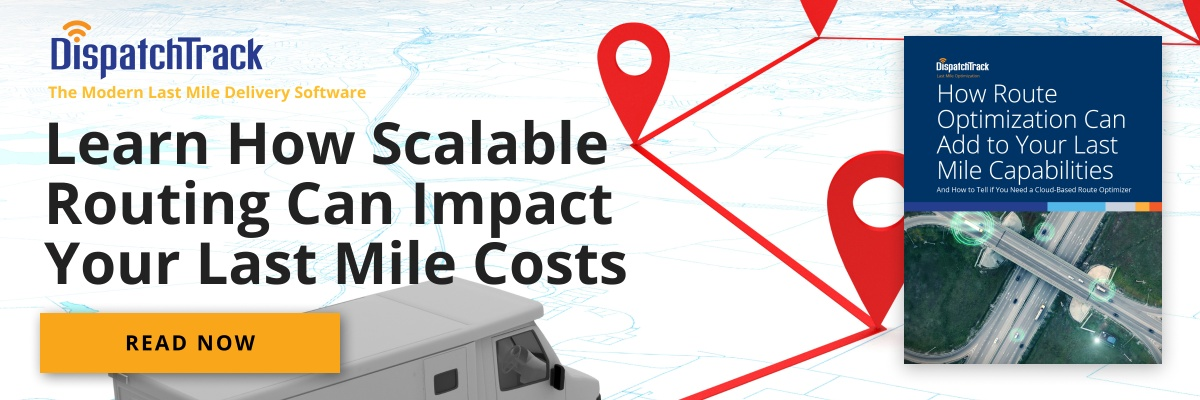 Learn how scalable routing can impact your last mile costs